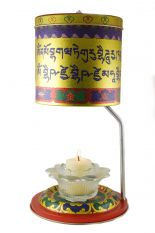 M. Buddha B.Lamp Prayer Wheel