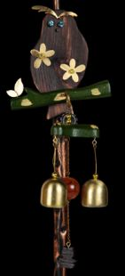 Magnetic - Owl Bell Wind Chime