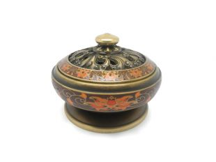 Enamel Incense burner