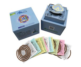 Water element 2hrs.coil incense