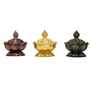 Lotus 8 AS incense burner (small)