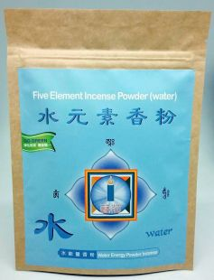 Water element powder incense 75g