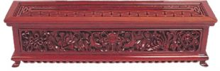 Redwood stick incense burner , made in Nepal (L)
