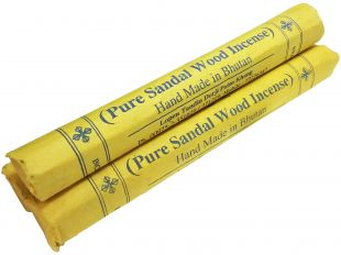 Pure White Sandal Wood Incense(one piece)