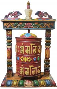 Desktop Prayer Wheel(wood)