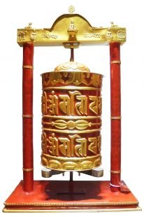 Nepalese manual prayer wheel