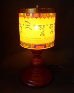 Photothermal Prayer Wheel Green Tara