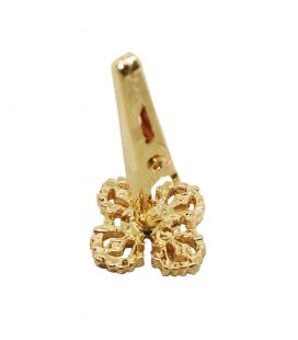 Double Dorje gold plated incense clip(S)