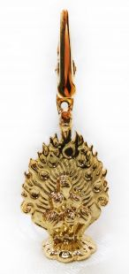 Norbu gold plated incense clip