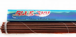 Blue Sky(Traditional Tibetan Herbal Incense)8 inch.